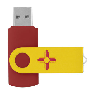 Flag of New Mexico USB Flash Drive