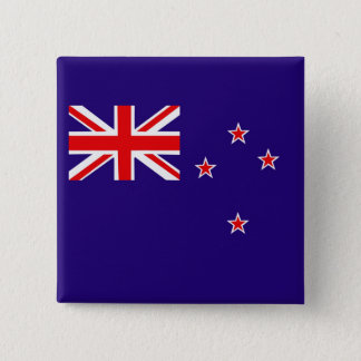 Flag of New Zealand 15 Cm Square Badge
