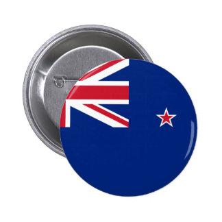 Flag_of_New_Zealand 6 Cm Round Badge