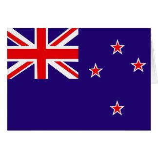 Flag of New Zealand Card
