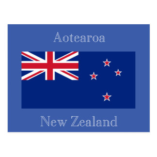 Flag of New Zealand Postcard