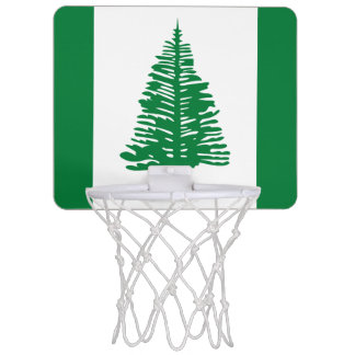 Flag of Norfolk Island Mini Basketball Goal Mini Basketball Hoop