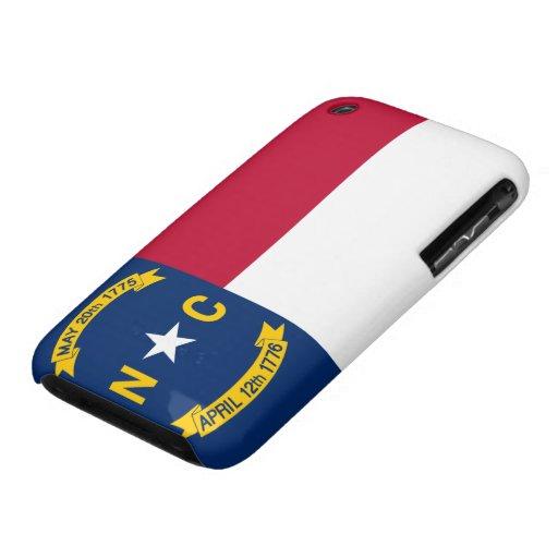 Flag of North Carolina Case-Mate iPhone 3 Cases
