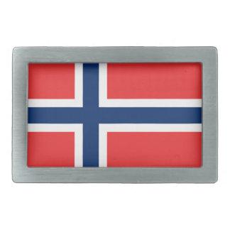 Flag of Norway  Belt Buckle
