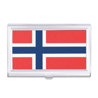 Flag of Norway Business Card Holder