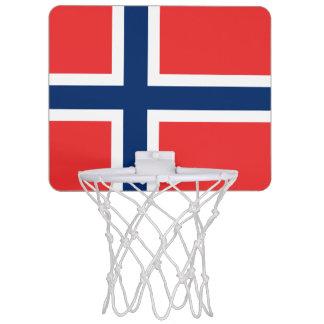Flag of Norway Mini Basketball Goal Mini Basketball Hoop