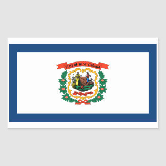 Flag of Occidental Virginia Stickers