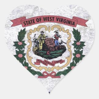 Flag of Occidental Virginia Sticker