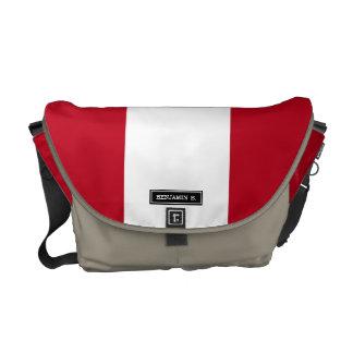 Flag of Peru Commuter Bag