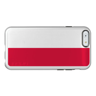 Flag of Poland Silver iPhone Case Incipio Feather® Shine iPhone 6 Case