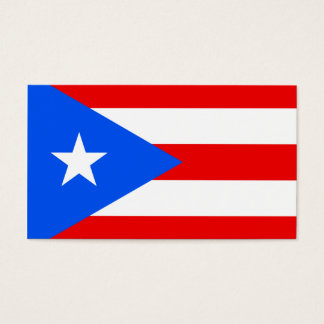 Flag of Puerto Rico Business Cards