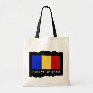 Flag of Romania Tote Bag