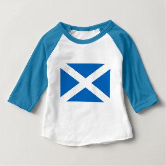 Flag of Scotland Baby T-Shirt