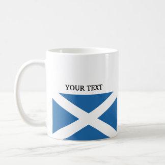 Flag of Scotland Coffee Mugs