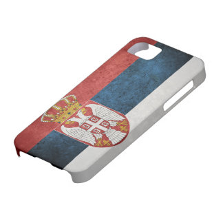 Flag of Serbia iPhone 5 Cases