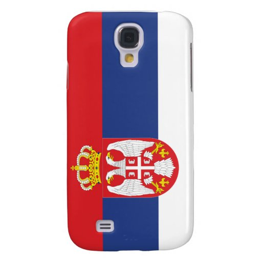 Flag of Serbia Samsung Galaxy S4 Cover