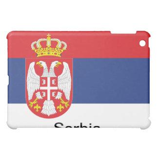Flag of Serbia iPad Mini Covers