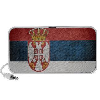 Flag of Serbia Notebook Speakers