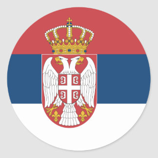Flag of Serbia Sticker