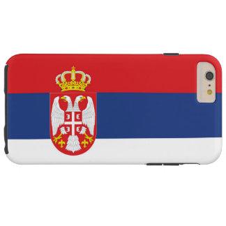 Flag of Serbia Tough iPhone 6 Plus Case