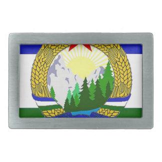 Flag of Socialist Cascadia Belt Buckle
