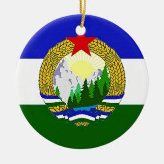 Flag of Socialist Cascadia Christmas Ornament