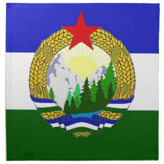 Flag of Socialist Cascadia Napkin