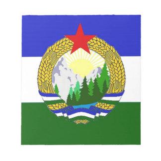 Flag of Socialist Cascadia Notepad