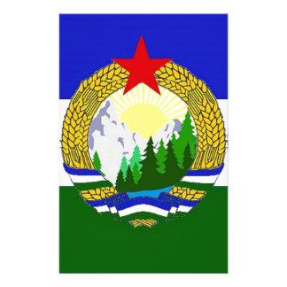 Flag of Socialist Cascadia Stationery