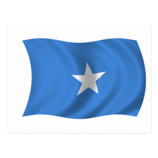 Flag of Somalia Postcard