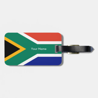 Flag of South Africa Bokke Luggage Tag