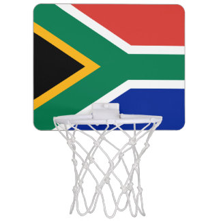 Flag of South Africa Mini Basketball Goal Mini Basketball Hoop