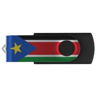 Flag of South Sudan USB Flash Drive Swivel USB 2.0 Flash Drive