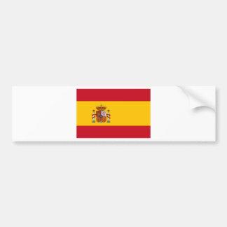 Flag of Spain Bumper Sticker