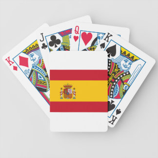 Flag of Spain Poker Deck