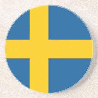 Flag of Sweden Coaster