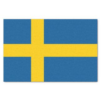 Flag of Sweden Tissue Paper