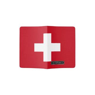 Flag of Switzerland Passport Holder