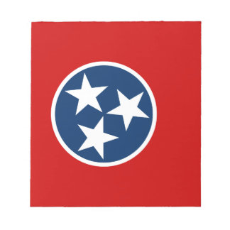 Flag Of Tennessee Notepad