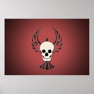 Flag of the black Phoenix Poster