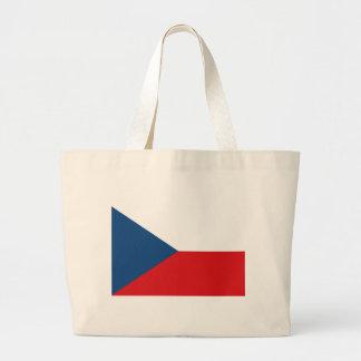 Flag_of_the_Czech_Republic Jumbo Tote Bag