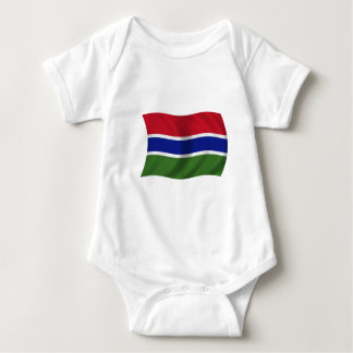 Flag of The Gambia Baby Bodysuit