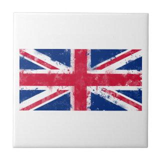 Flag of the United Kingdom or the Union Jack Ceramic Tiles