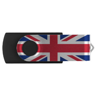 Flag of the United Kingdom USB Flash Drive Swivel USB 2.0 Flash Drive