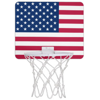 Flag of the United States Mini Basketball Goal Mini Basketball Hoop