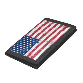 Flag of the USA Trifold Wallet