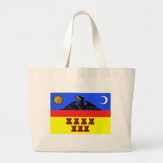 Flag_of_Transylvania Large Tote Bag