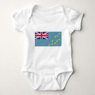 Flag_of_Tuvalu Baby Bodysuit