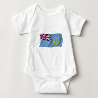 Flag of Tuvalu Baby Bodysuit