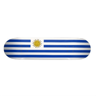 Flag of Uruguay Skateboard Deck